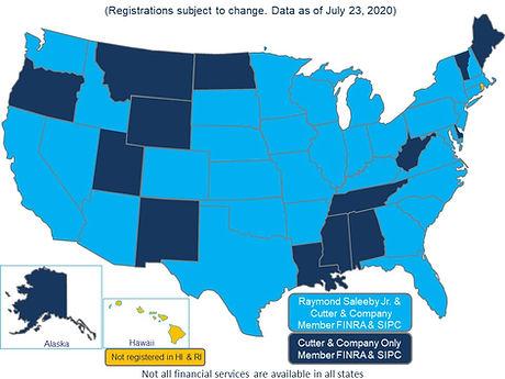 State Broker Registration Map Only 7.23.