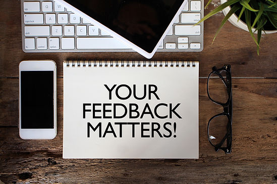 YOUR FEEDBACK MATTERS! Concept. Words on