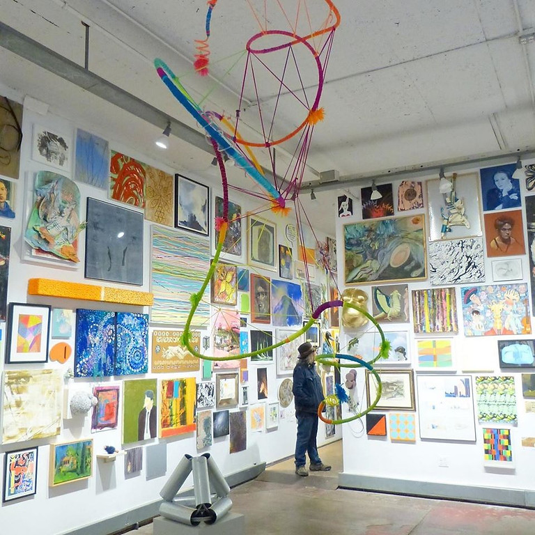 20/20 VISION invitational group show @Holland Tunnel Art Gallery Newburgh