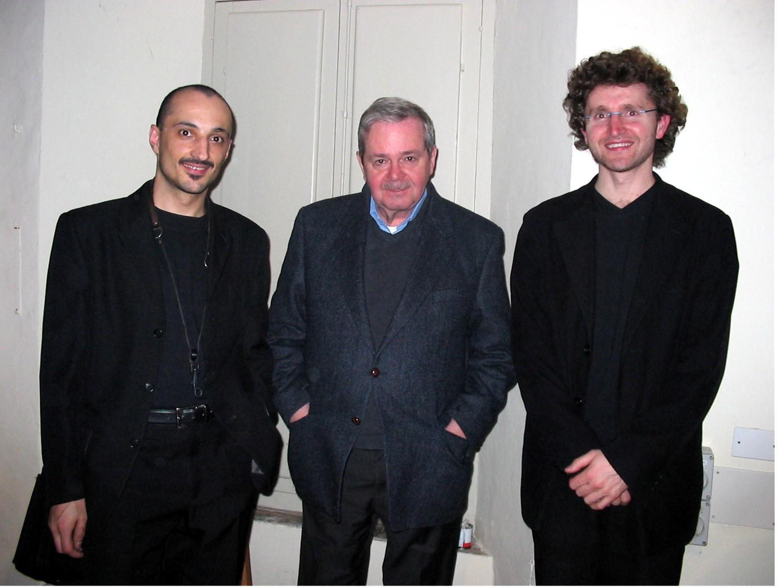 con Kenny Wheeler e Massimo Morganti