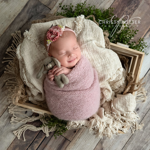 Petite Newborn Swaddled Session