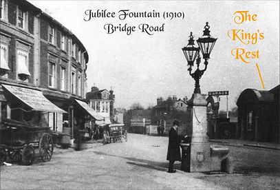 1910 Hampton Court Jubilee Fountain