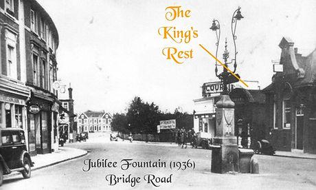 1936 Hampton Court Jubilee Fountain