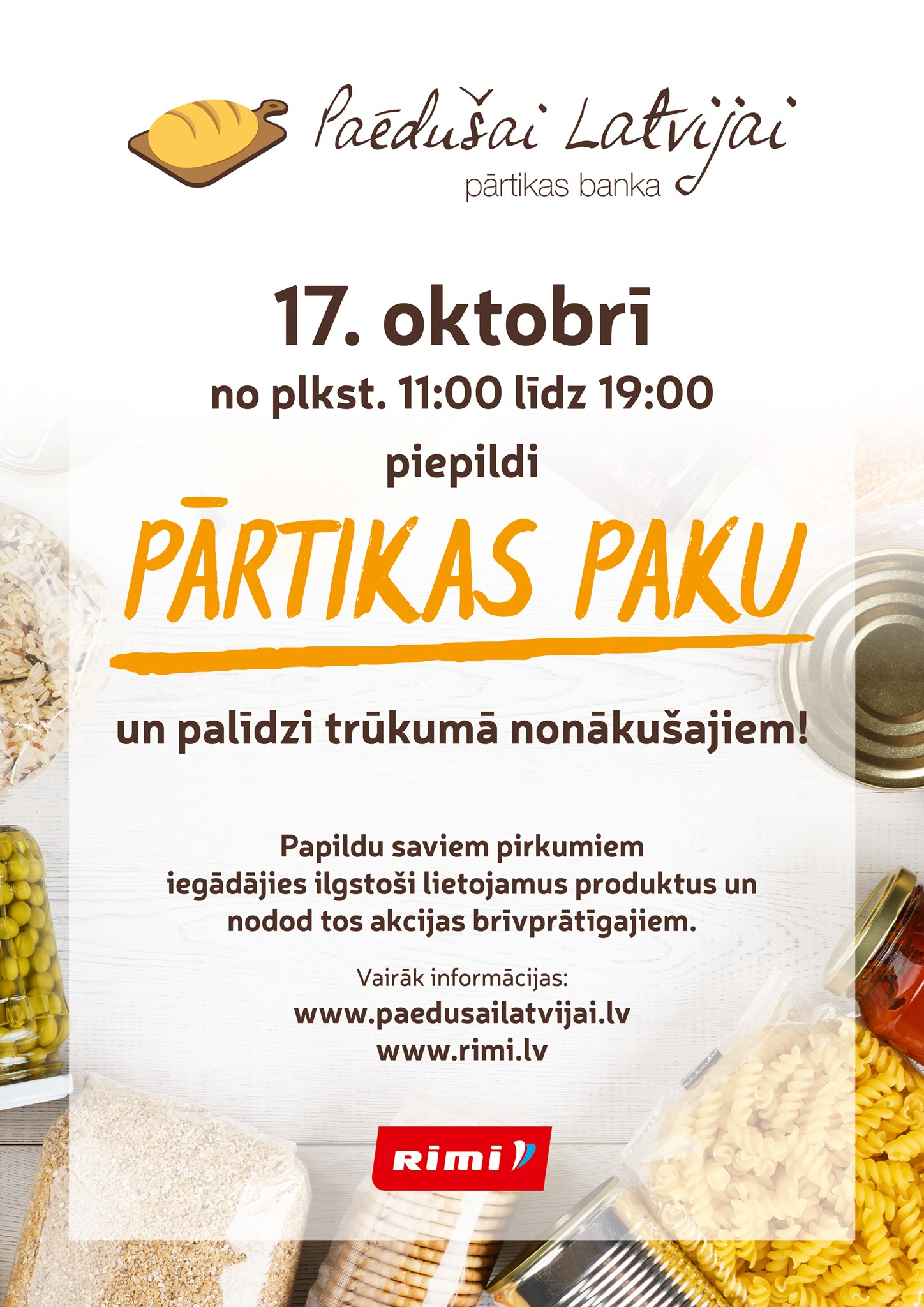 Paēdušai Latvijai akcija