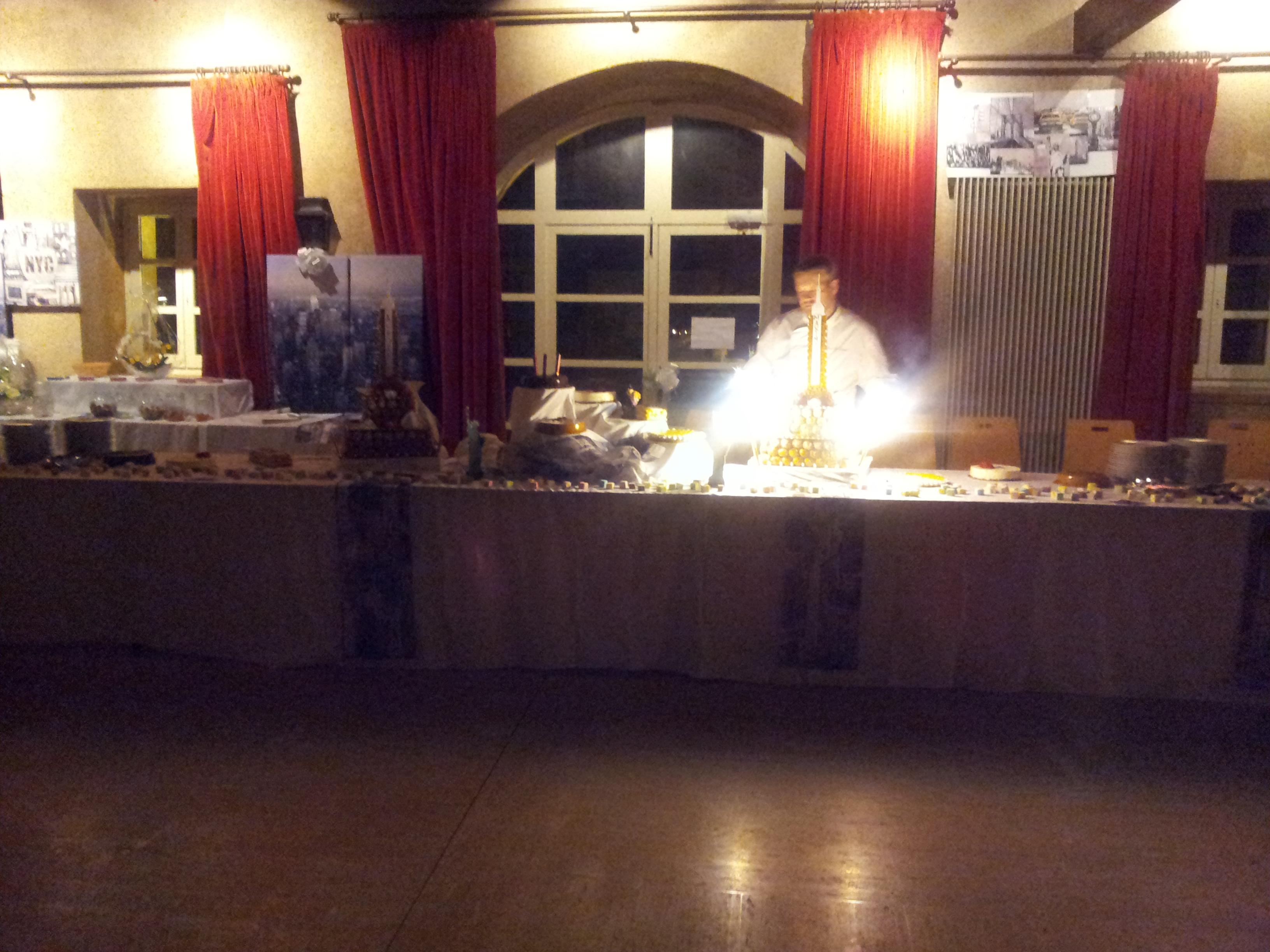 Buffet de desserts mariage