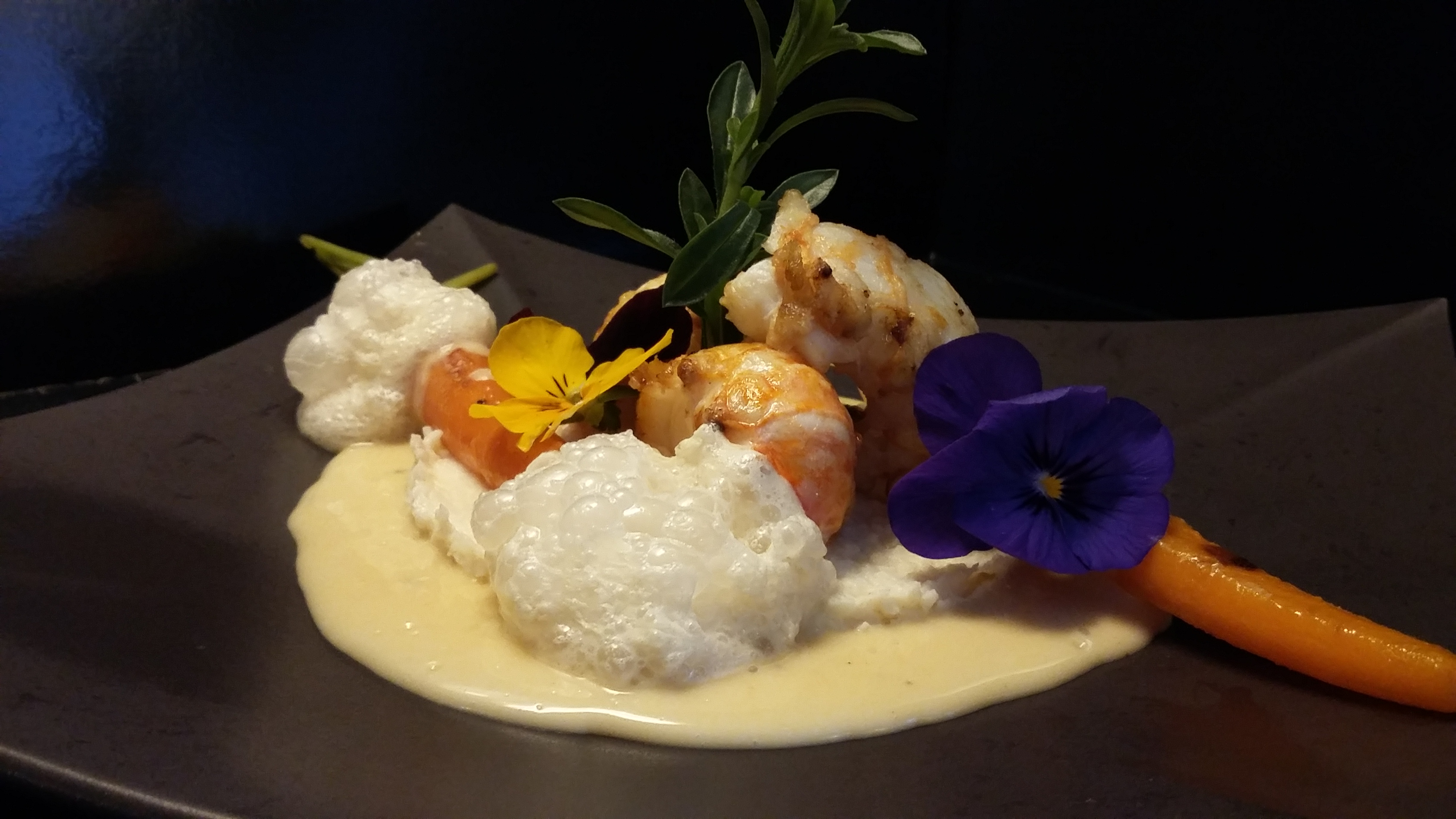 Langoustines au beurre d'agrumes