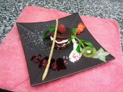 mille feuille choco framboise