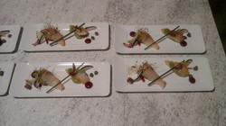 Haddock, pomme et radis noir