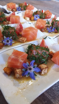 saumon gravelax, version 2