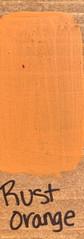 Rust Orange