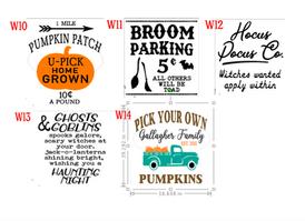 Fall designs W10-14