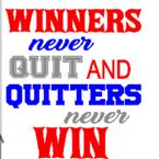 K28- Winners never quit