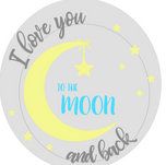 R16 ROUND love to moon/back