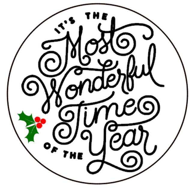 R19 Round Most wonderful time