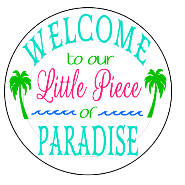 R11 Round welcome to paradise