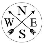 R5- Round Compass NSEW