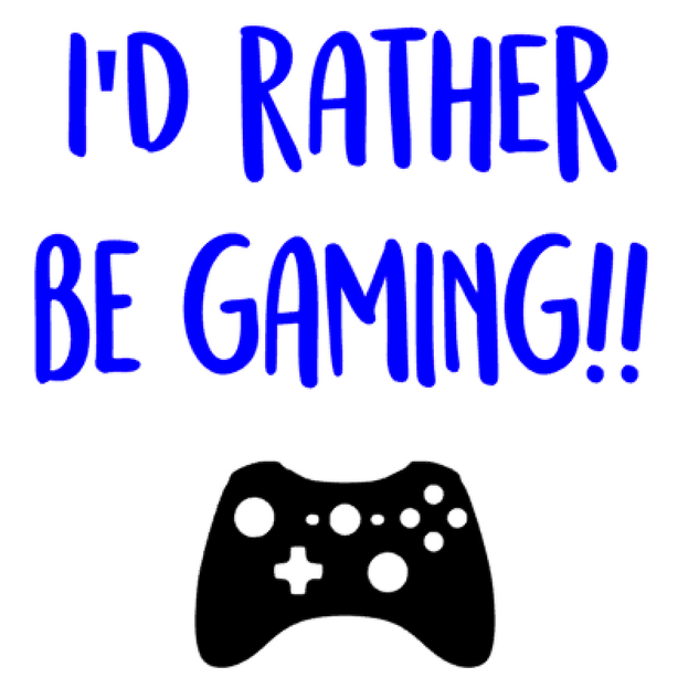 K36- I'd rather be gaming
