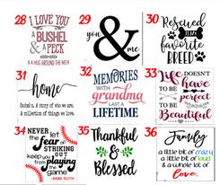 Designs 28-36