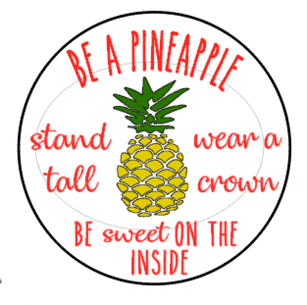 R10 Round be a pineapple