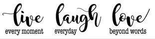 L10- Live/laugh/love