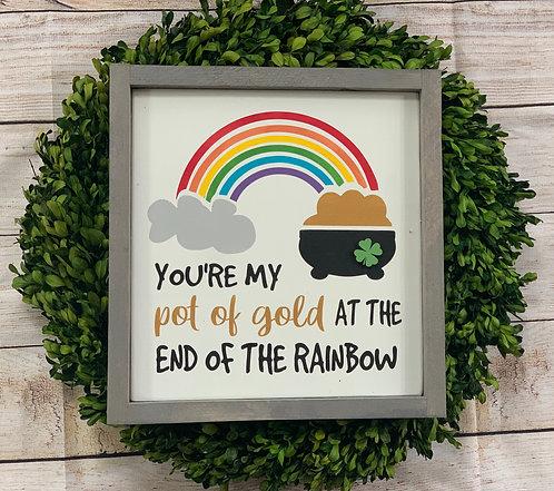 Pot of Gold/Rainbow 3D