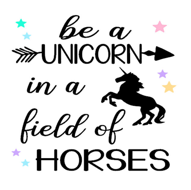 K20- Be a unicorn in a field of horses
