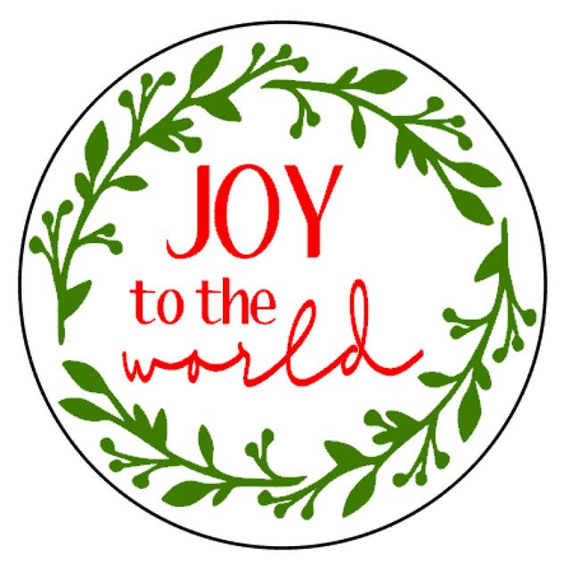 R20 Round Joy to the world