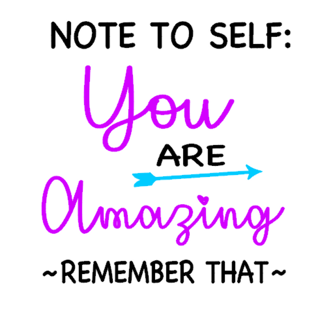 K13- Note to self, you are amazing