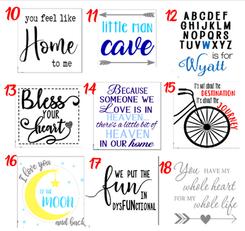 Designs 10-18