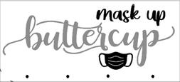 FM2- mask up buttercup