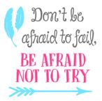 K11-don't be affraid to fail