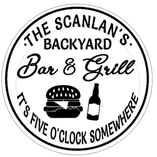R13 Round Personalized bar and grill