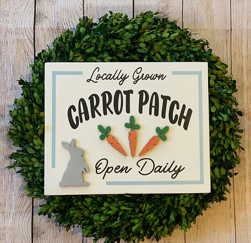 3D Carrot Patch
