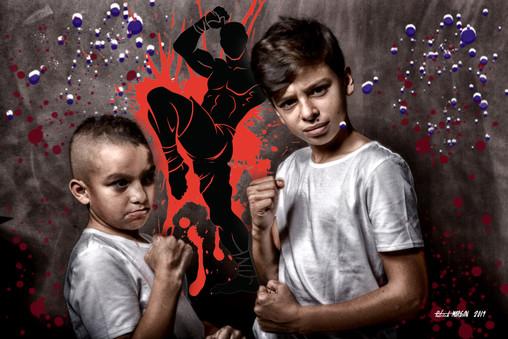 Boxing Rayan & Elies stidio Pm 2019