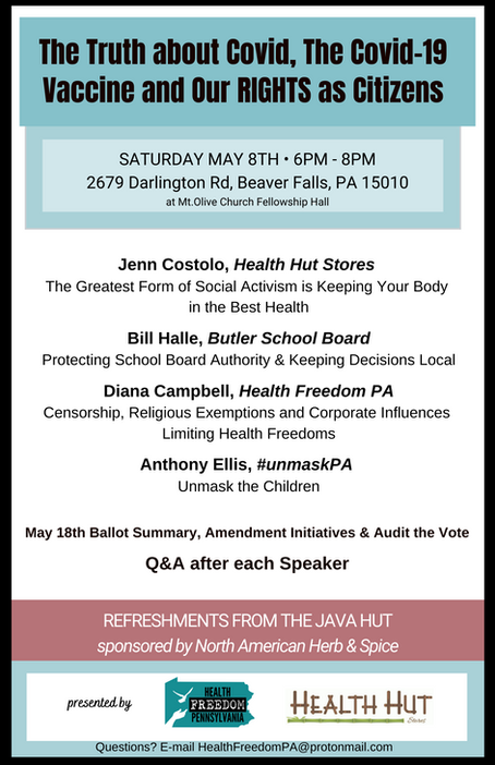Health Freedom Event