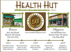 Health Hut Stores 50 Years