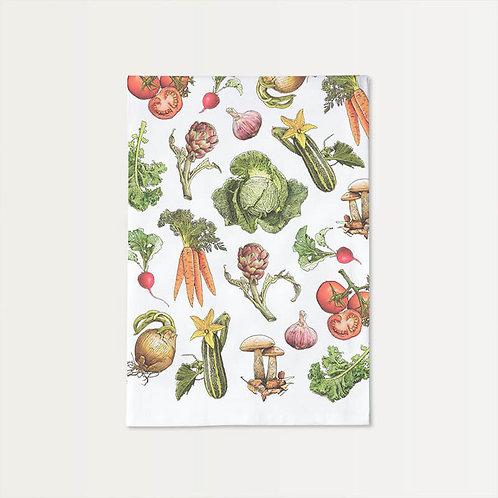 Veggies Cotton Towel