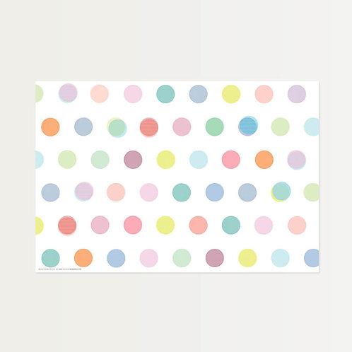 Vintage Dot Paper Placemats