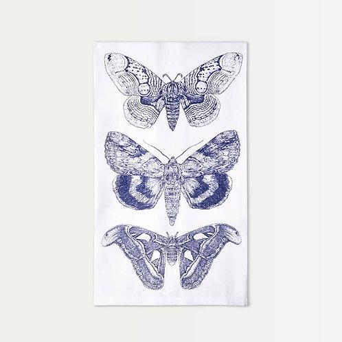 Three Moths Cotton Towel