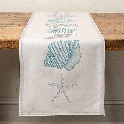 Seashell March Table Runner