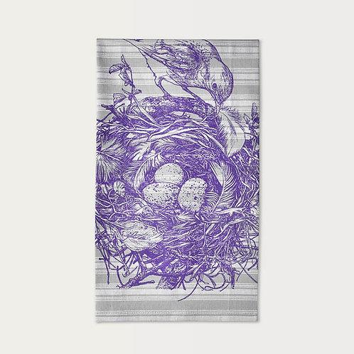 Bluebird's Nest Cotton Towel
