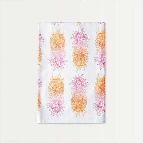 Pineapple Pattern Cotton Towel