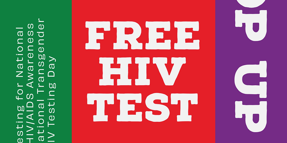 Pop-Up HIV Testing - Joint event with SAN and SRHD