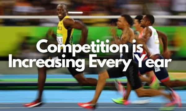 man sprinting strength and conditioning