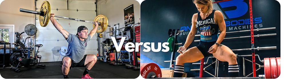 weightlifter versus powerlifter