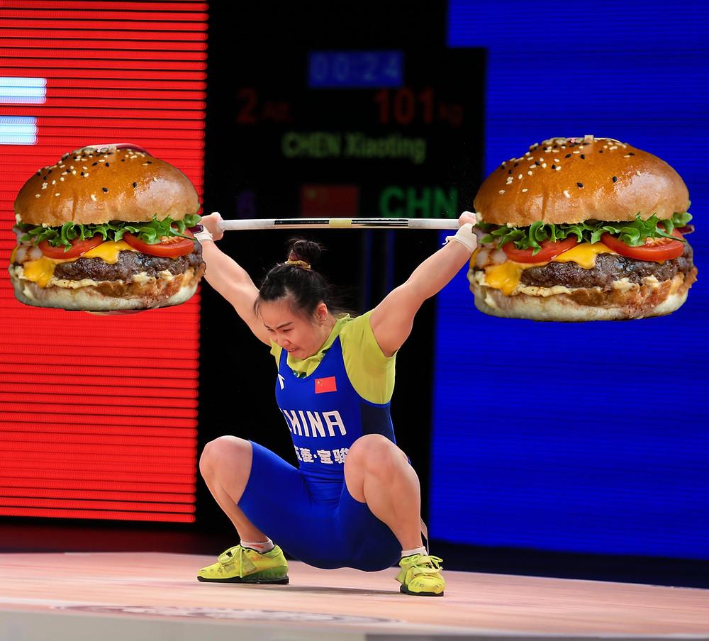Weightlifting diet