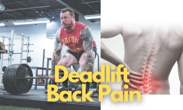 deadlift back pain
