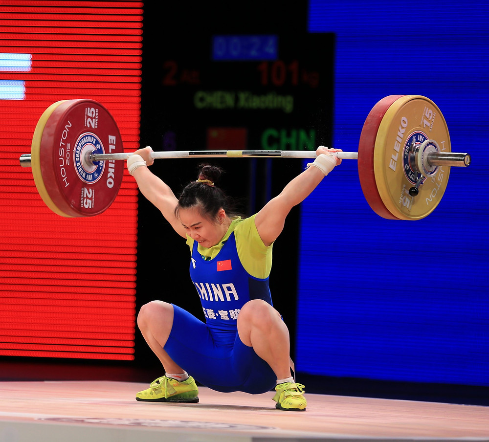 olympic lifting technique low