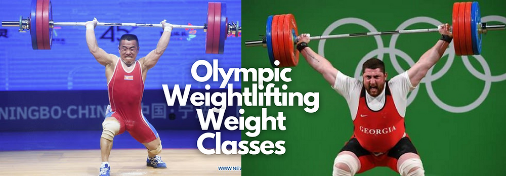 olympic weightlifting weight classes