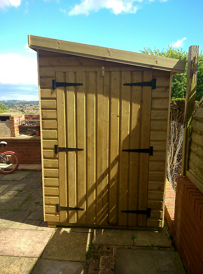 8' x 6' TANALISED 19mm T&G shiplap HEAVY duty shed pent roof